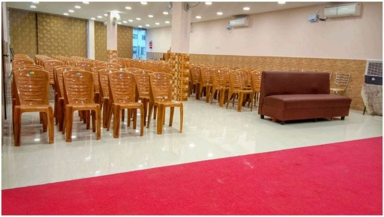 restaurant party hall setup - 5